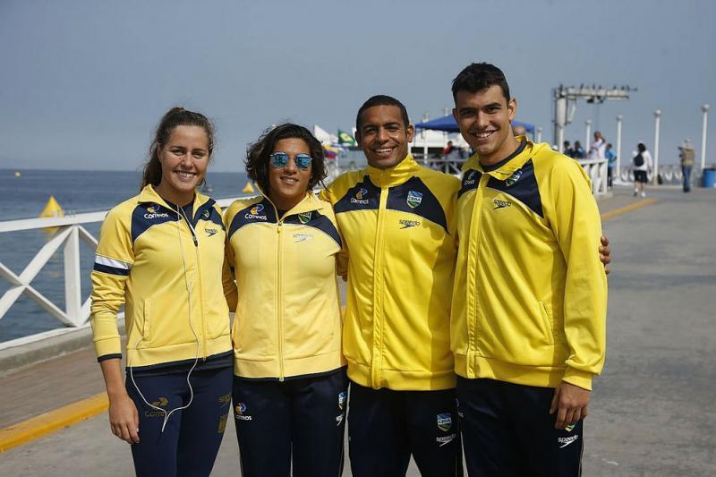 Trio baiano busca vaga em Tóquio no Mundial de esportes aquáticos