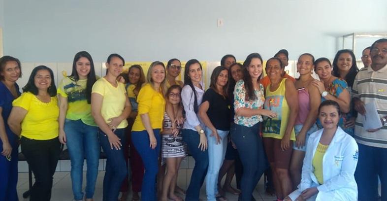 Equipes de Saúde e Assistência Social de Brumado aderem a Campanha Setembro Amarelo