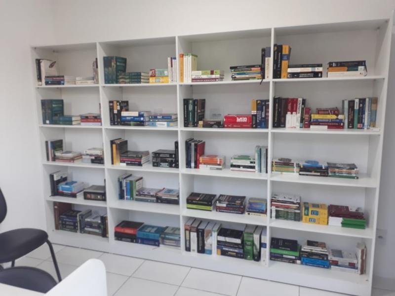 Cipe Sudoeste inaugura sala de leitura Cel PM Antônio Medeiros de Azevedo