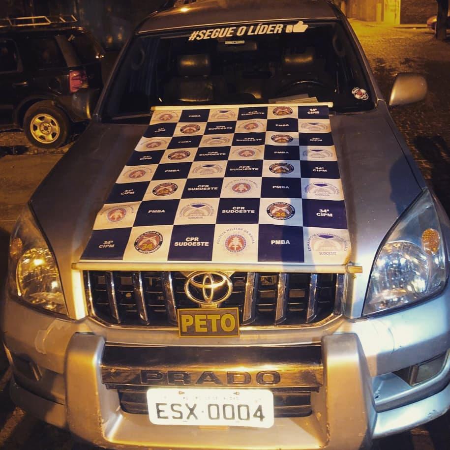 Brumado: Polícia Militar apreende veículo clonado no bairro Dr. Juracy