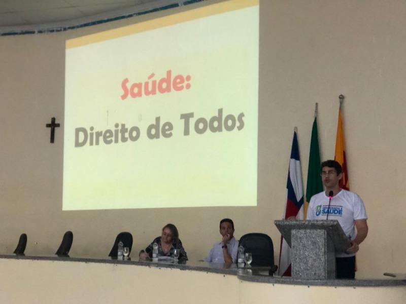 Realizada em Brumado a VIII Conferência Municipal de Saúde com tema Saúde e Democracia