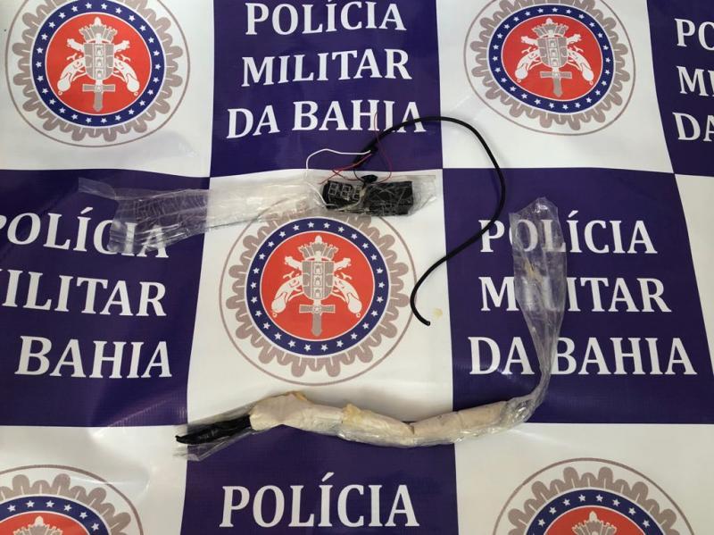 Bandidos amarram explosivo em corpo de gerente de banco e BOPE é acionado para desarmar artefato na Bahia