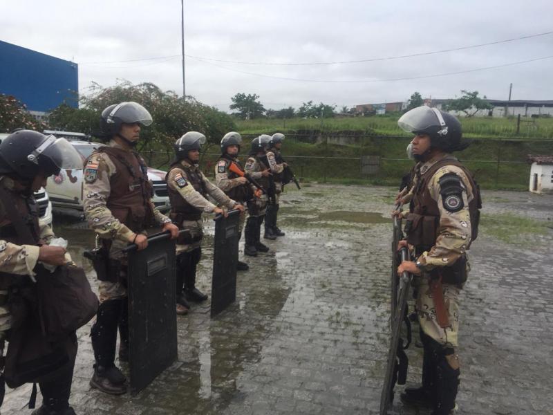 Operação Reação transfere 24 detentos de Itabuna para Serrinha