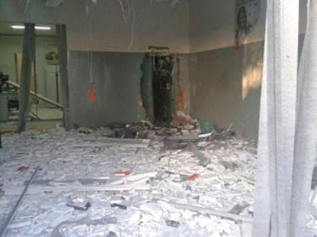 Marcionílio Souza: Agência de banco fica destruída após explosão