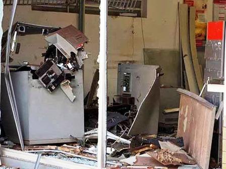 IRAJUBA: BANDIDOS EXPLODEM CAIXA ELETRÔNICO