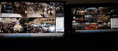 Primeira noite de Carnaval Público é acompanhado de perto pelo monitoramento Pm
