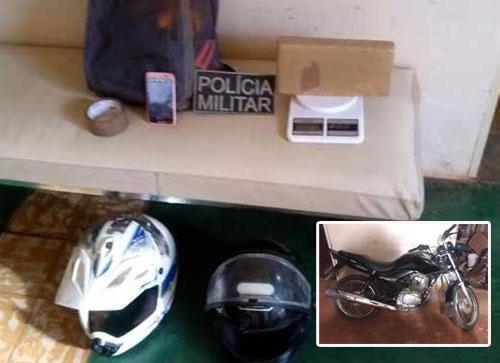 Riacho de Santana: Polícia Militar apreende Drogas que possivelmente seriam distribuídas em Caetité