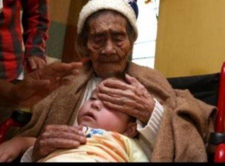Mulher mexicana completou 127 anos neste domingo