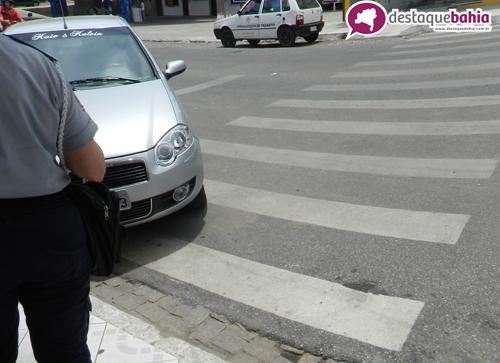 Atitude imprudente de condutor resulta em multa
