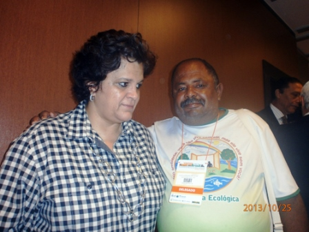 4ª Conferência Nacional do Meio Ambiente Coordenador Geral do Modera marcou presença