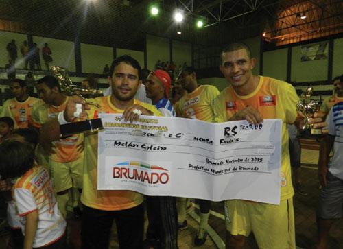 Juventude quebra o favoritismo do IBAR e sagra se campeão brumadense de futsal 2013