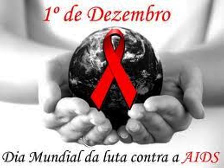 HOJE É O DIA MUNDIAL DE LUTA CONTRA AIDS