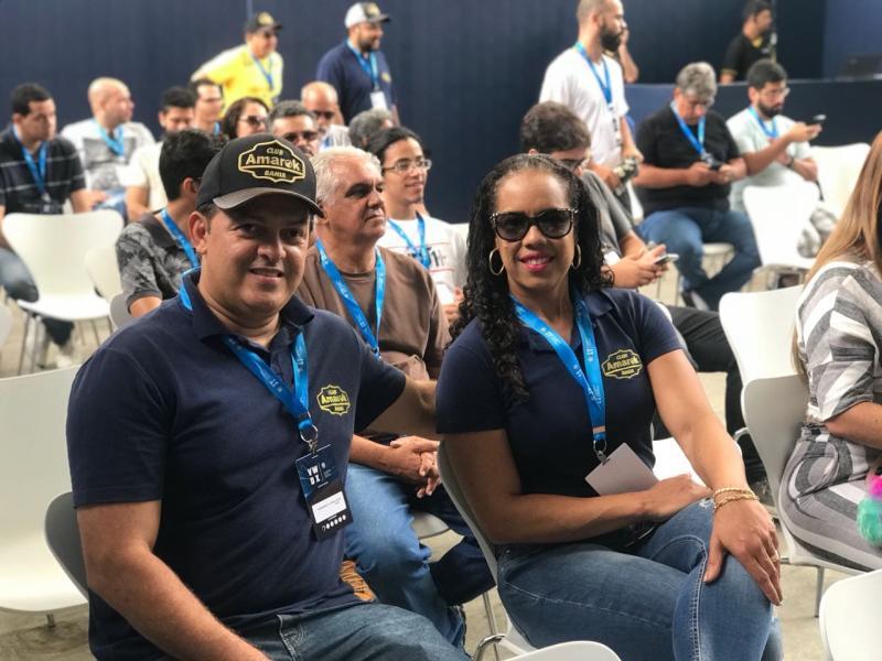 Taisan Auto e Club Amarok Bahia presentes no 'Volkswagem Experience' na arena fonte nova em Salvador
