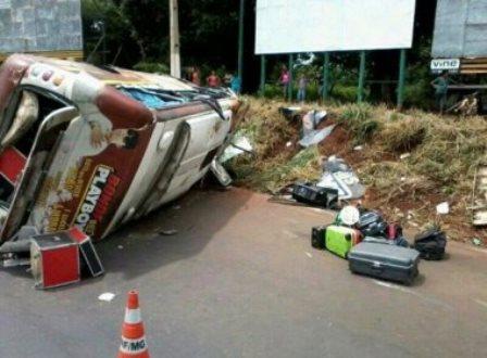 Monte Alegre de Minas: Integrante de banda da Bahia morre em acidente de carro