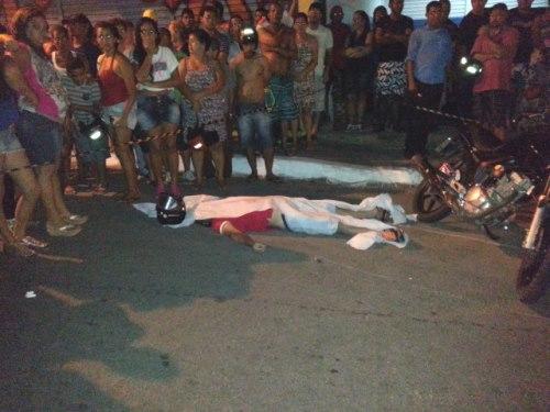 Acidente com vitima fatal no centro da cidade