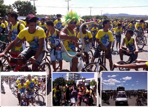 No Dia do Trabalhador guanambienses se unem no maior passeio ciclístico do mundo