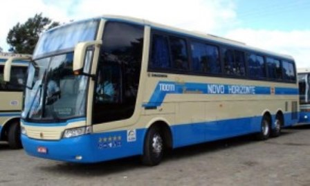 Palmas de Monte Alto: Bandidos assaltam ônibus da empresa Novo Horizonte