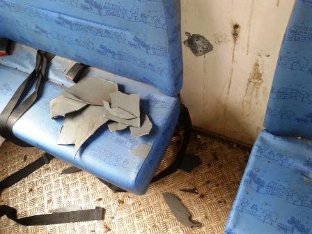 Mairi: Aluno explode bomba dentro da lixeira no ônibus escolar
