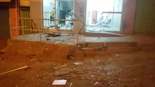 Bandidos explodem agência do Bradesco no distrito de Cascavel em Ibicoara
