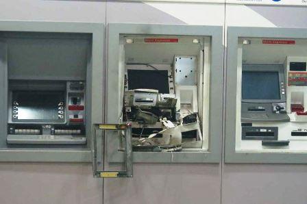Itororó: bandidos explodem caixa eletrônico mas não encontram dinheir
