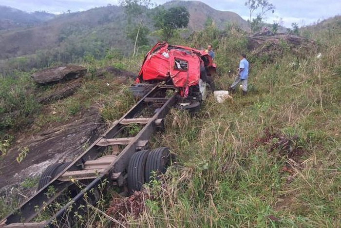 Jovem de Dom Basílio morre em grave acidente na Serra do Marçal