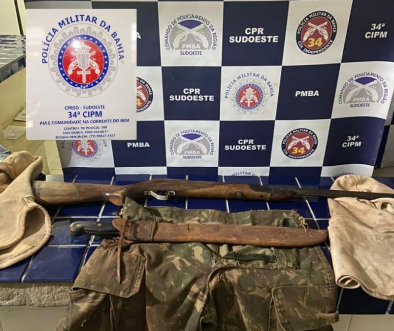 Brumado: Polícia apreende material utilizado em Caça Ilegal em área de preservação ambiental da Magnesita
