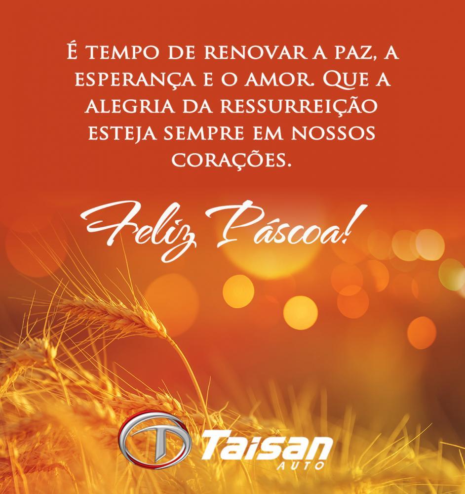 Taisan Auto: Feliz Páscoa!