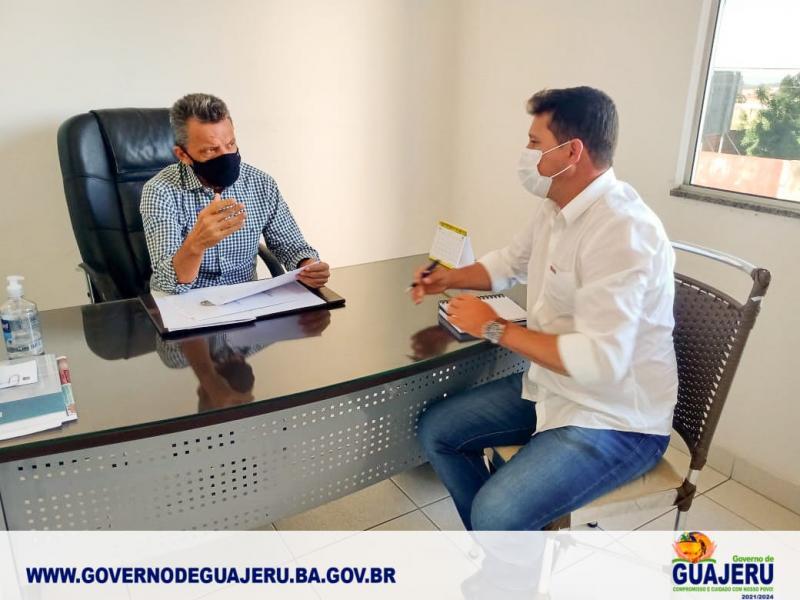 Deputado Federal Charles Fernandes garante a liberação de R$ 1 milhão de reais em Emenda Parlamentar para Guajeru em 2021