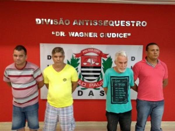 Bahia: quatro homens são presos suspeitos de sequestrar ex-prefeito e empresário