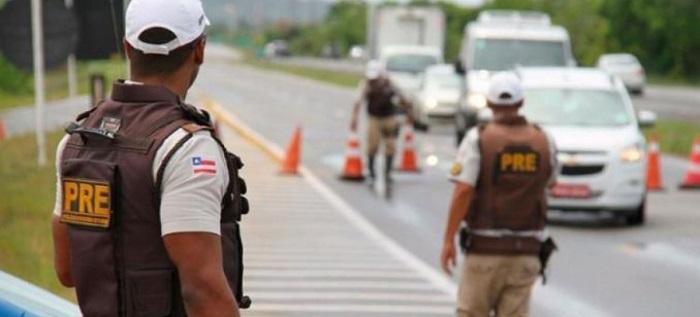 PRE registra 22 acidentes e 6 mortes nas rodovias baianas no São João