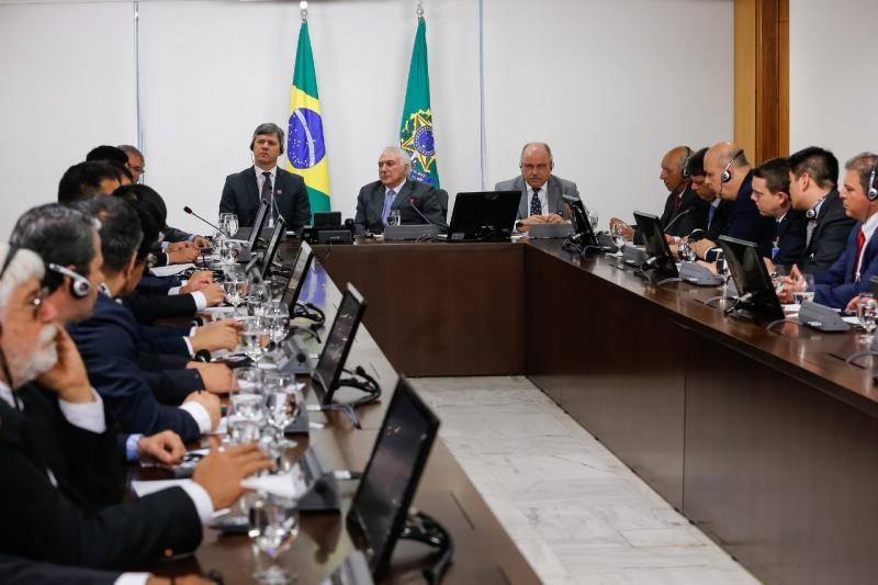 Prefeito de Caetité se reúne com o presidente Michel Temer