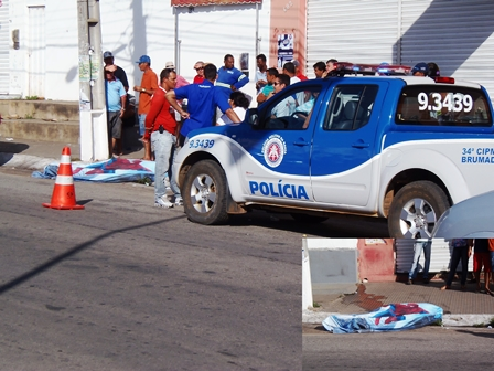 Idoso é encontrado morto na Avenida Dr.Antônio Mourão Guimarães