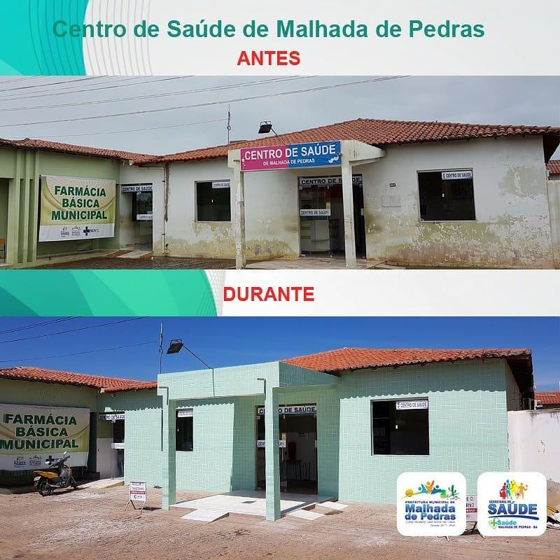 Malhada de Pedra: Centro Municipal de Saúde está sendo ampliado