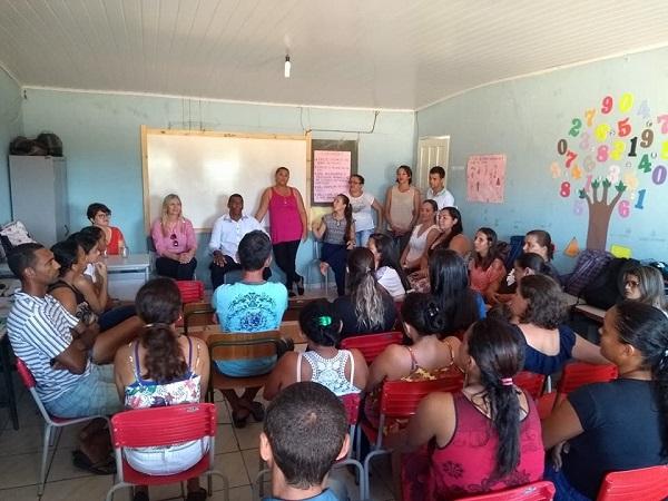 Escola em tempo integral nos moldes do PNME é garantida por prefeita de Malhada de Pedras na comunidade Periperi