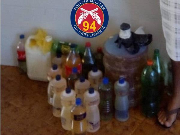 Homem é preso comercializando gasolina a R$ 20 o litro em Caetité