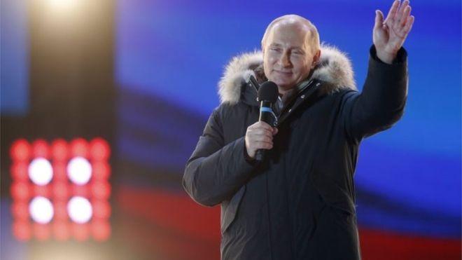 Putin conquista 4º mandato presidencial na Rússia com grande margem de votos