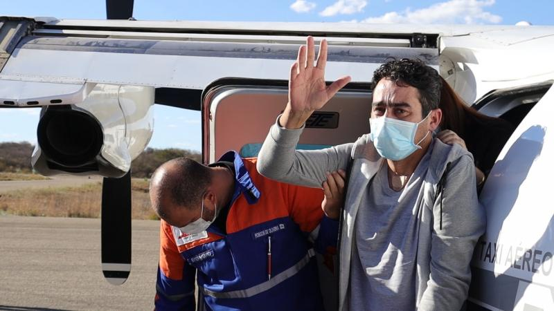 Após mais de um mês lutando pela vida em decorrência da Covid, Márcio Moreira recebe alta e é recepcionado em Brumado