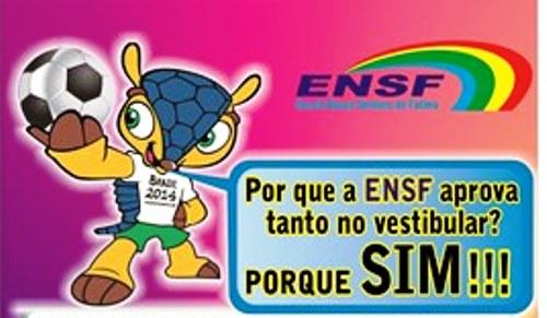 ENSF PARABENIZA OS APROVADOS NO VESTIBULAR 2014