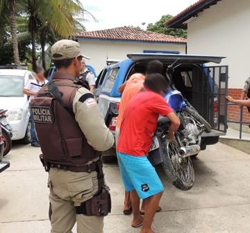 Quadrilha que atuava em roubo de motos é presa pela policia após denúncias anônimas