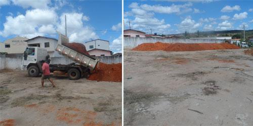 A prefeitura de Maetinga trabalha em ritimo acelerado, para que obras sejam concretizadas