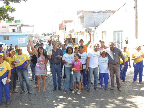 Lícinio de Almeida: Pessoas realizaram caminhada em prol do Meio Ambiente