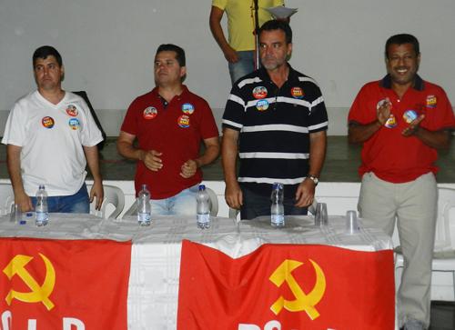 Aldenes Meira e Daniel Almeida fazem oficialmente lançamento de campanha