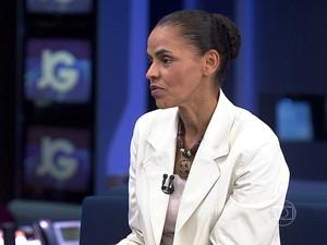 Marina Silva diz que perguntas sobre crença só são feitas porque ela é evangélica