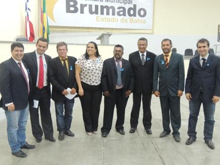 Câmara de Vereadores de Brumado adere a Campanha Novembro Azul