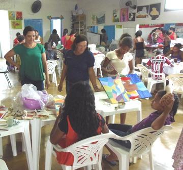 """CRAS Irmã Dulce desenvolve o projeto """"Aprendendo com Arte e Cultura"""""""