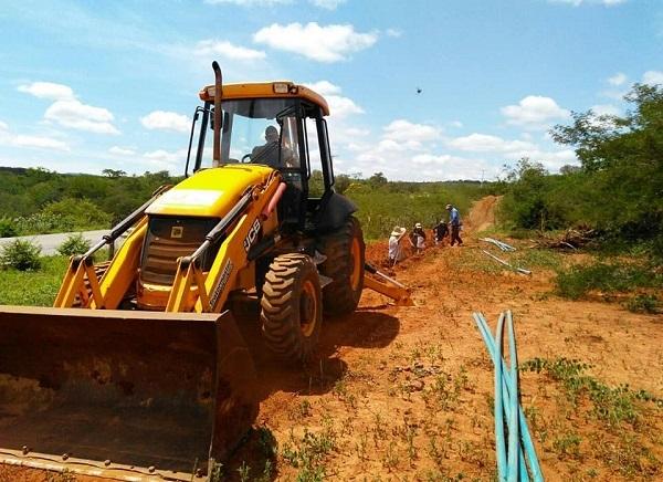Guajeru: prefeitura realiza a construção do Sistema de Abastecimento de Água em Lagoa do Braço