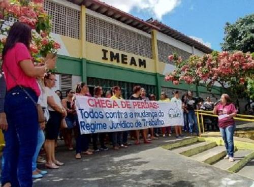 Itabuna: Greve de professores completa 1 semana sem solução