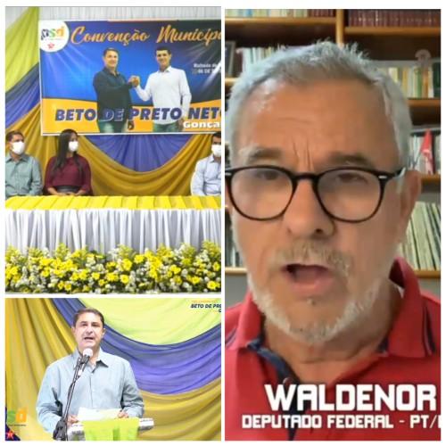 Waldenor saúda convenção de Malhada de Pedras e apresenta balanço de investimentos