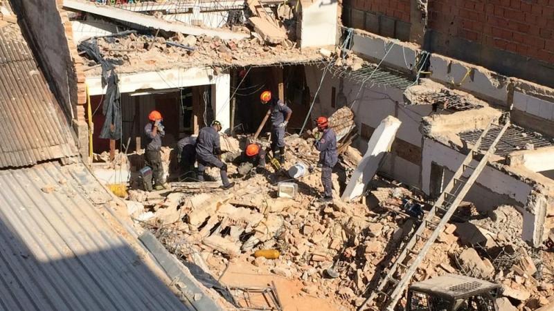Maetinguense morre soterrado em São Roque após obras de prédio desabarem