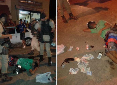 Bandido foi assaltar comércio de policial e se deu Mal.